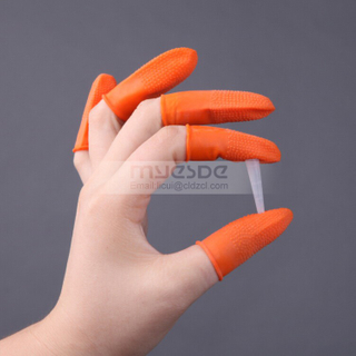 Disposable Antistatic Powder Free Latex Finger Cots
