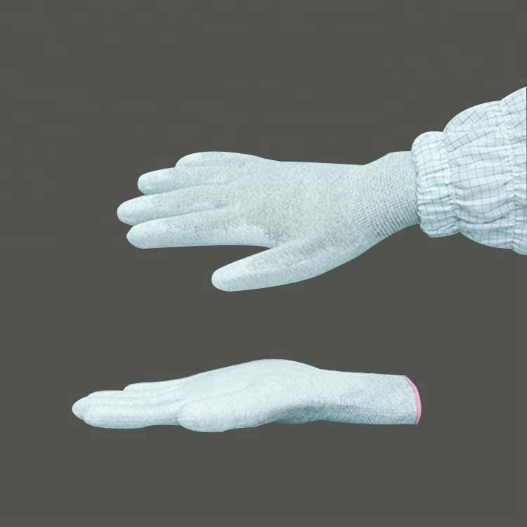Electronics Industry Esd Antistatic Gloves For Industrial Use