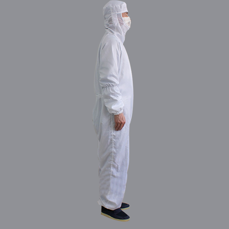 2019 Lapel Smock Cleanroom Coverall Cleanroom Antistatic Esd Smock