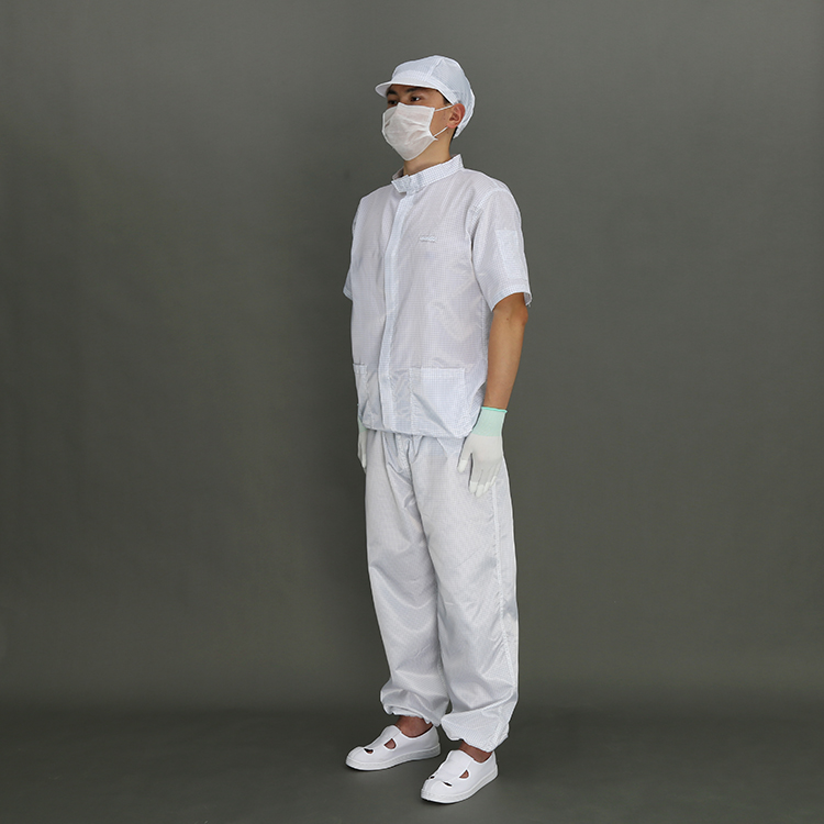 Good Quality Stripe Anti-Static Cleanroom Clothes