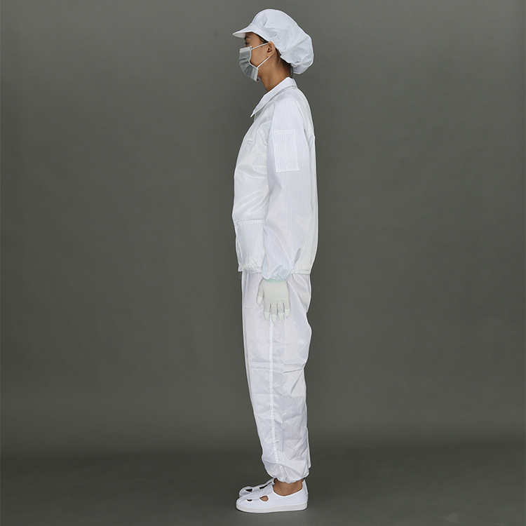 Esd Protective Antistatic Cleanroom Work Clothing