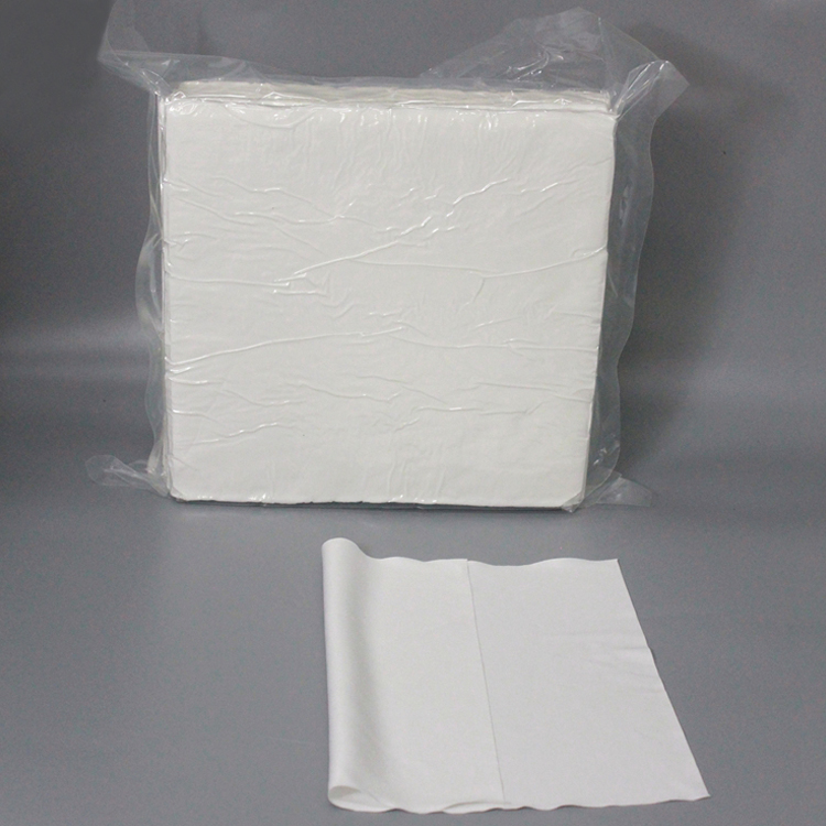 Semiconductor Industry Dust Free Cleanroom Microfiber Wipe Cloth