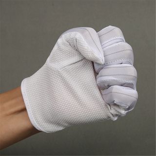 Electronic Work Anti Static Esd Glove with PVC Dot Coated