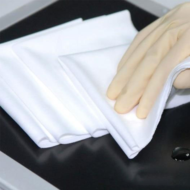 140g 9inch class 1000 High quality Cleanroom Wipers Lcd Screen Cleaning Cloth Cleanroom Wiper 100 Polyester Lint Free Cloth