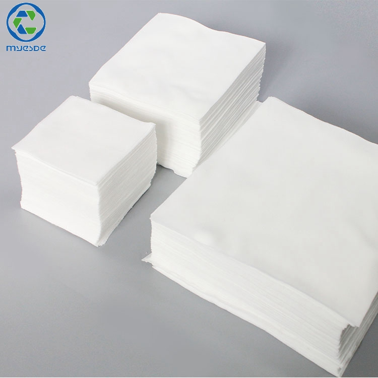 115g lint free 1006LE best clean cleanroom wiper Clean Class 1000 Laser Cutting Lint Free Polyester Cleanroom Wiper