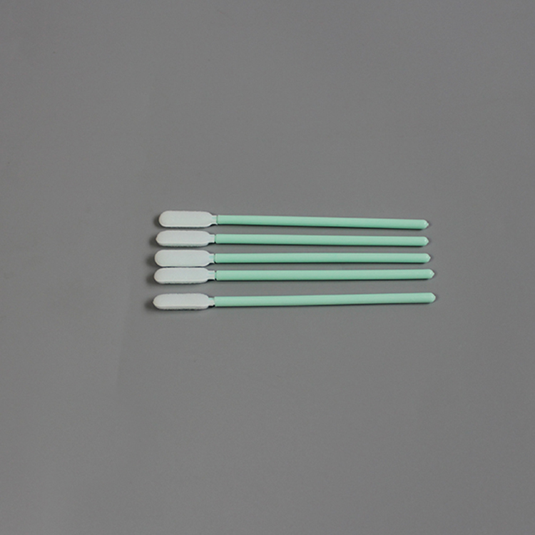 Small Head Cleaning Swab For Precision Instrument,Swabs Sponge Stick for PCB,Cleanroom Sponge Swab