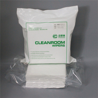 Hot selling lint free cleanroom polyester wipes clean room lint free wipes