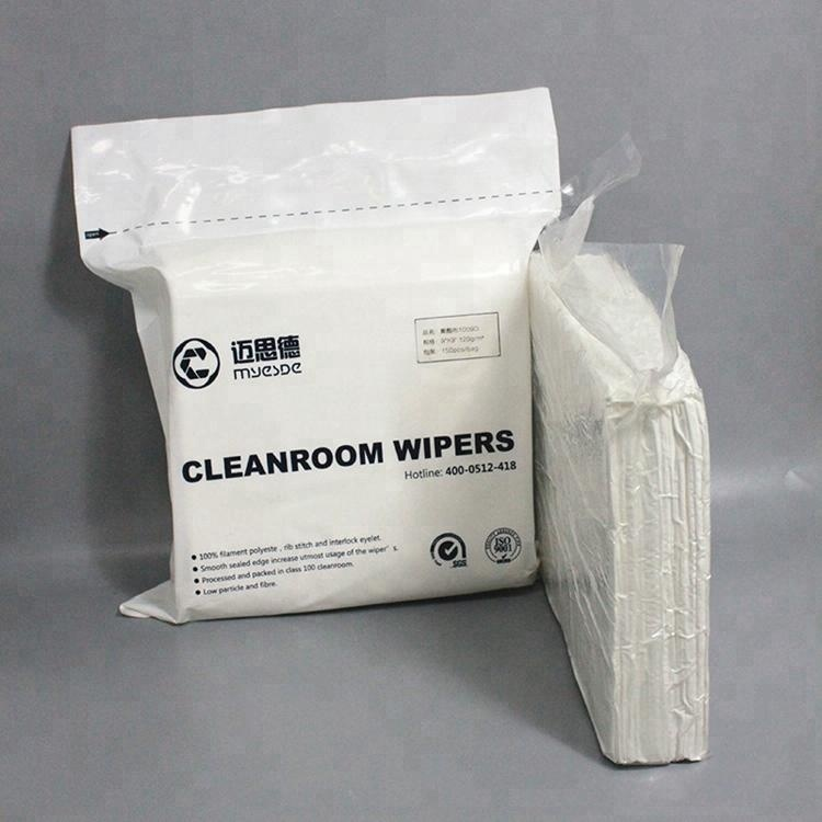Cleanroom Use Laser Cut Polyester Cleanroom Wiper