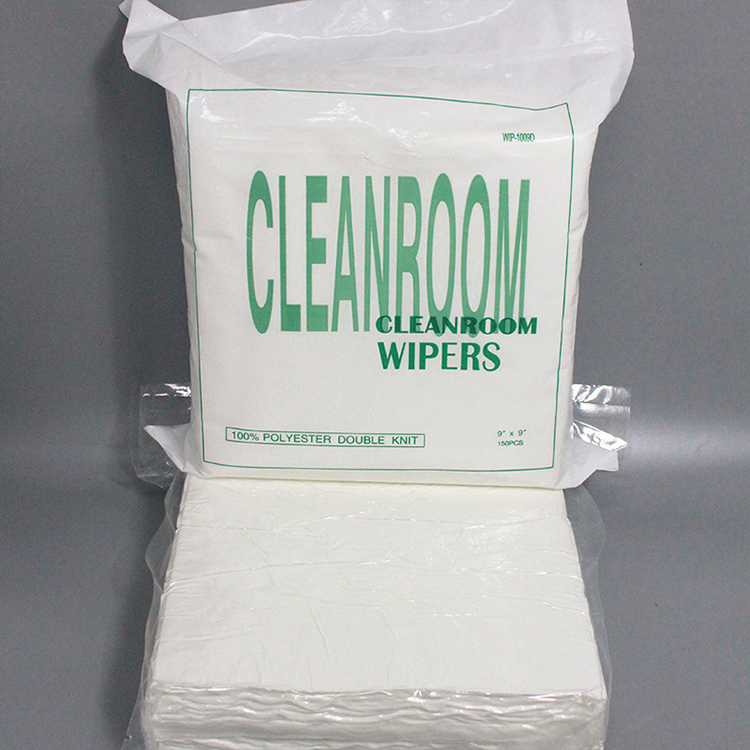 100% Polyester 1009D Class 100 Esd Cleanroom Wipes