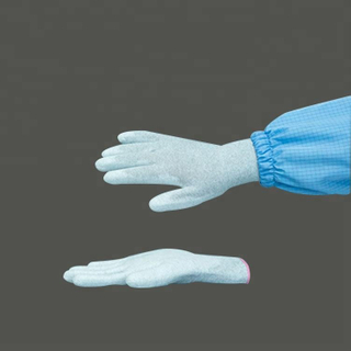 High Quality Non-Disposable Cleanroom Esd Pu Safety Gloves