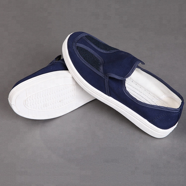 Hot Selling Pvc Soles Anti-Static Cleanroom Shoes Men