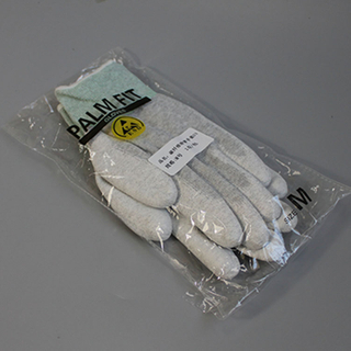 wholesale Pu Finger Coated Work Gloves,Esd Carbon Fiber Fit Glove