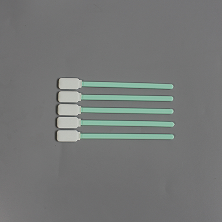 Knitted Polyester Clean Head Cleanroom Keyboard Cleaning Swab
