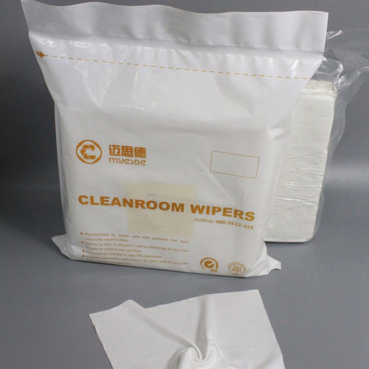 Laser Cut Class 100 Clean Room Wipes Polyester Cleanroom Wipes