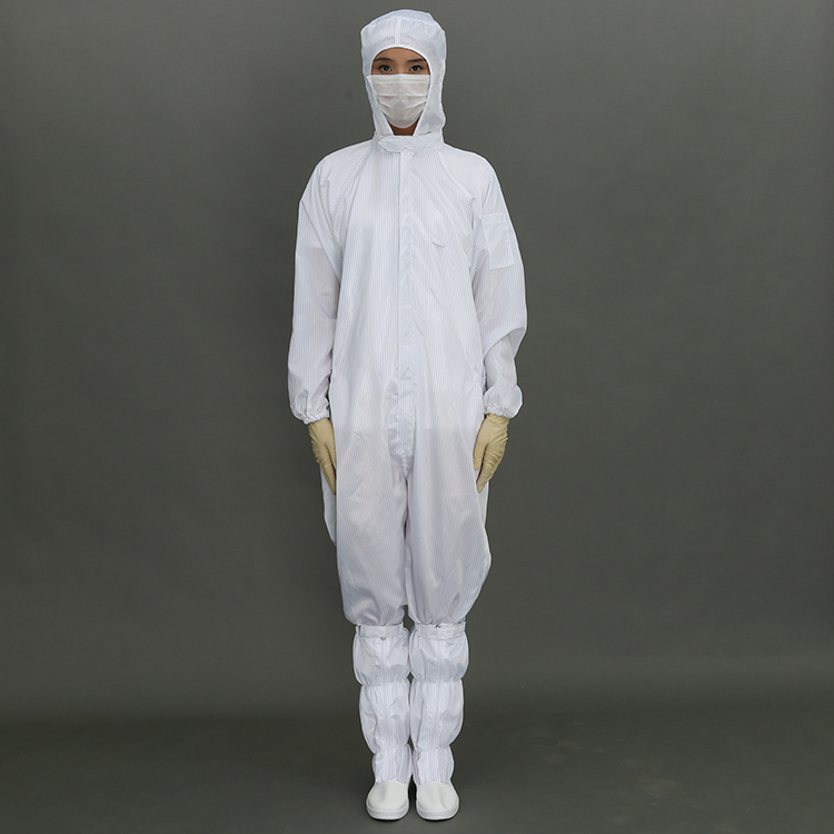 2019 ESD Working Cleanroom Garment for Clean Room