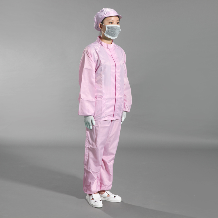 Muti-function White Esd Cleanroom Workshop Clothing