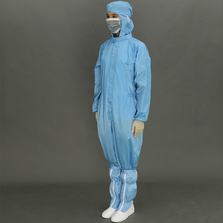 Hot selling Safety Clothing For Electronics Factory Cleanroom Safety Clothing