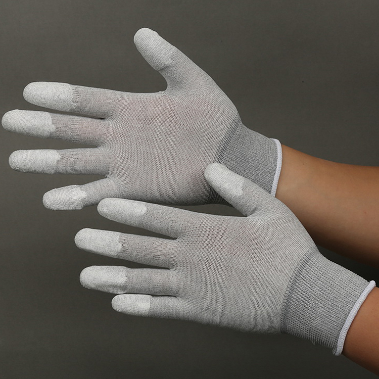 Hot sale Anti Static Esd Pu coated gloves