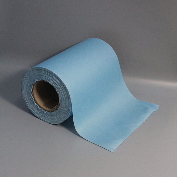 Hot Sale Jumbo Roll Wipes Blue Wipers Paper Roll