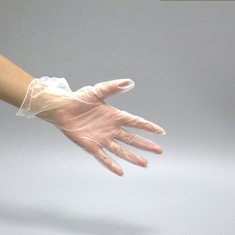 12inch Eco-friendly Disposable powder free Vinyl Pvc Gloves for Cleanroom Working
