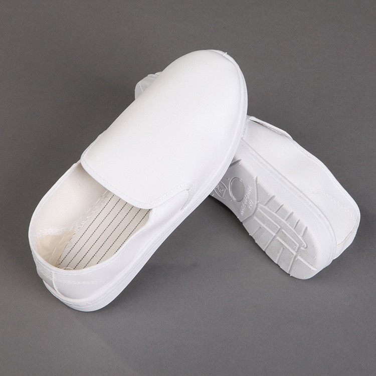 4 Hole Cleanroom Esd PU Shoes antistatic shoes