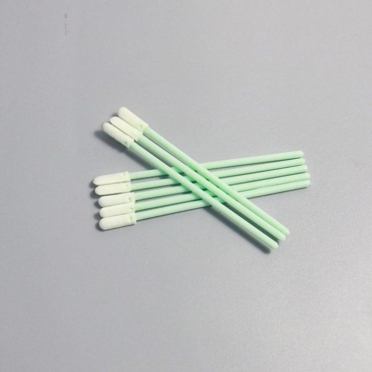 With Long Handle Dustless Cleanroom Esd Foam Tipped Cleaning Swabs