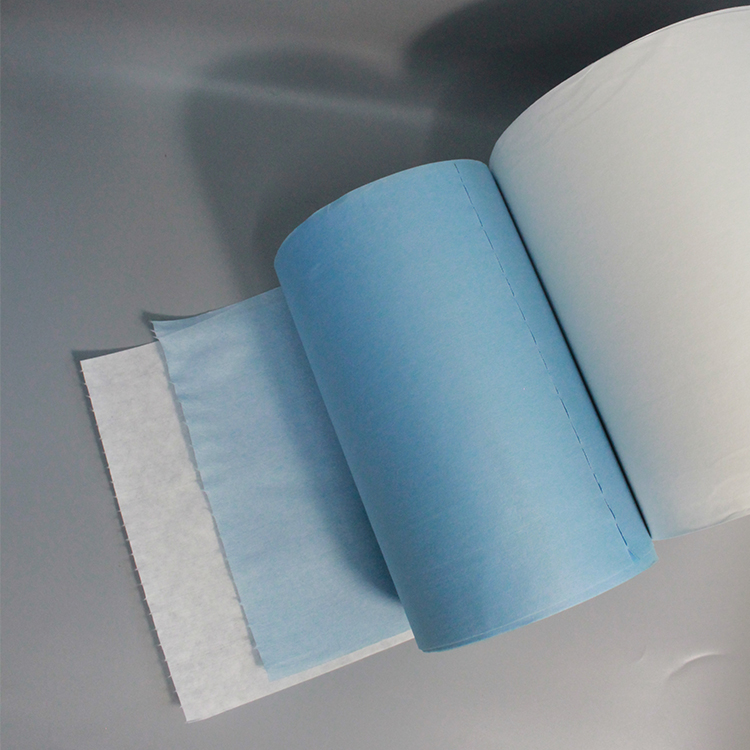 High Quality Woodpulp Pp Industrial Nonwoven Wiper Industrial Cleaning Enhanced Paper