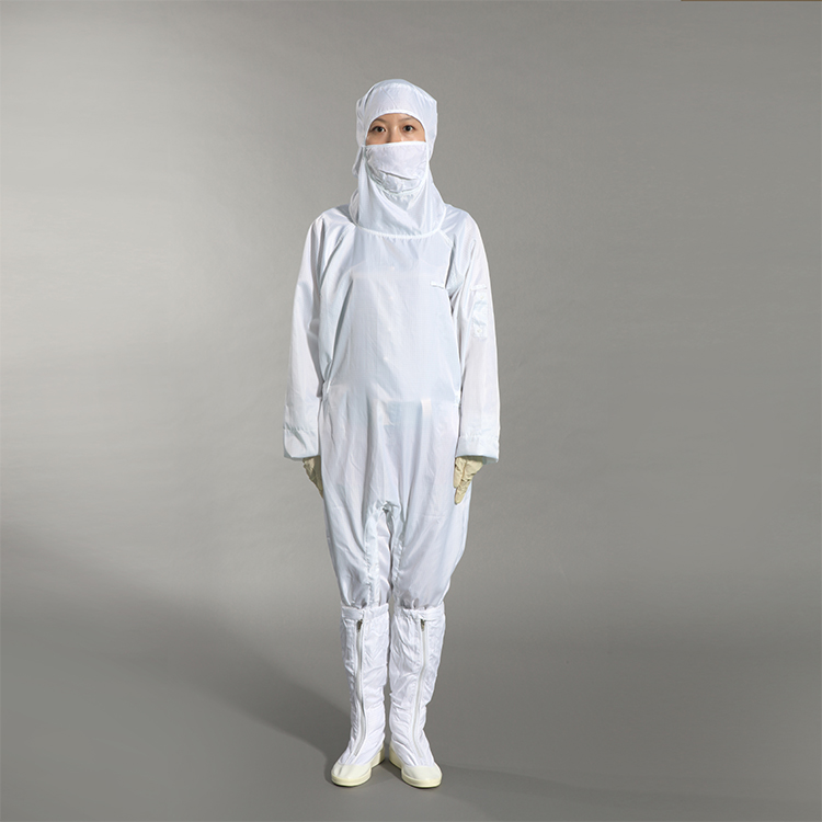 2019 Polyester Antistatic Esd Protective Clothing Cleanroom Coverall