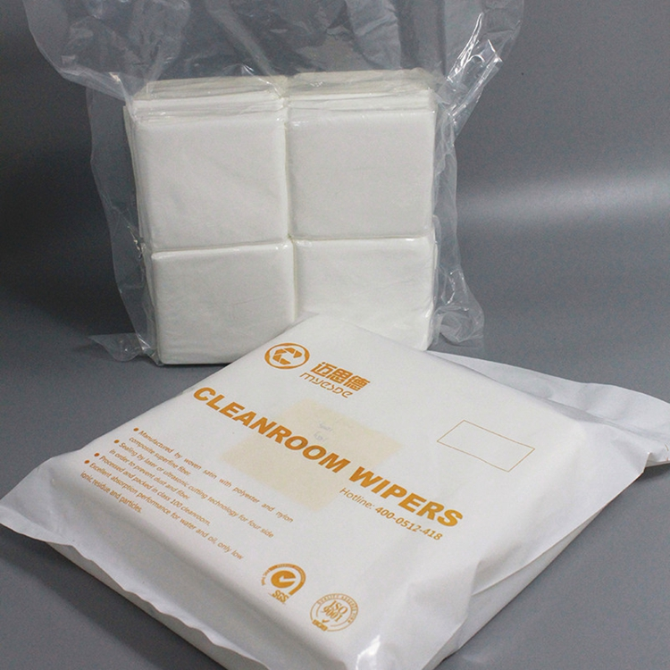 165gsm 9inch Best Seller 100% polyester cleanroom Wipes
