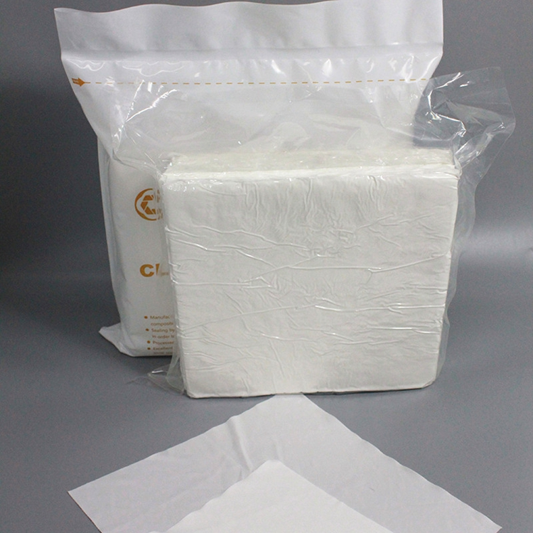 Multifunctional cleanroom polyester cellulose cleaning cleanroom wiper