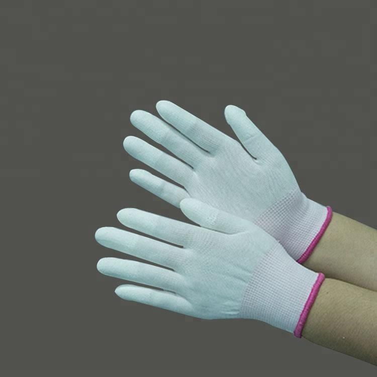 High Quality Esd palm pu coated gloves