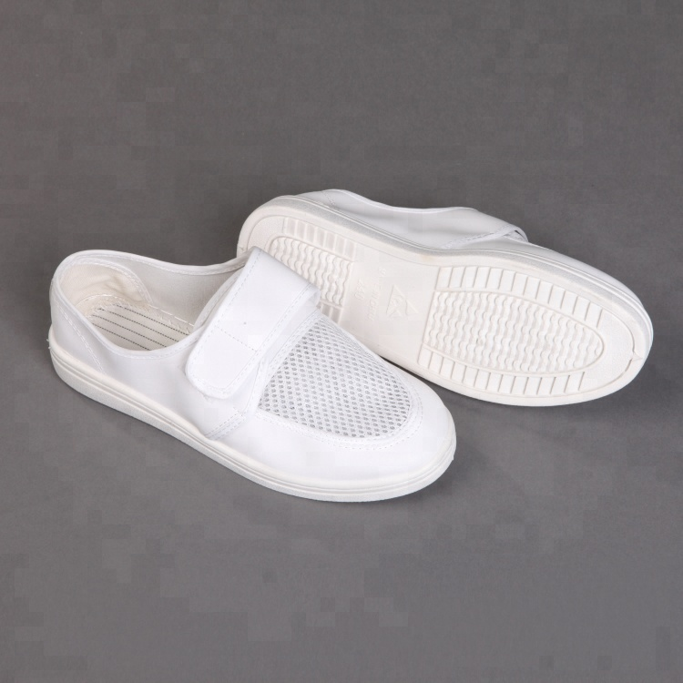 Customized PVC Canvas Anti-static Cleanroom Safety Esd Shoes