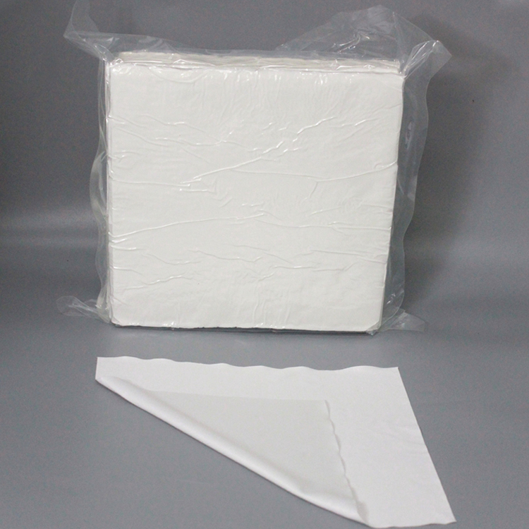 Sub Microfiber Cleanroom Wiper,4X4Inch Ultrasonic Sealed Dust Free Antistatic Lab Wipes