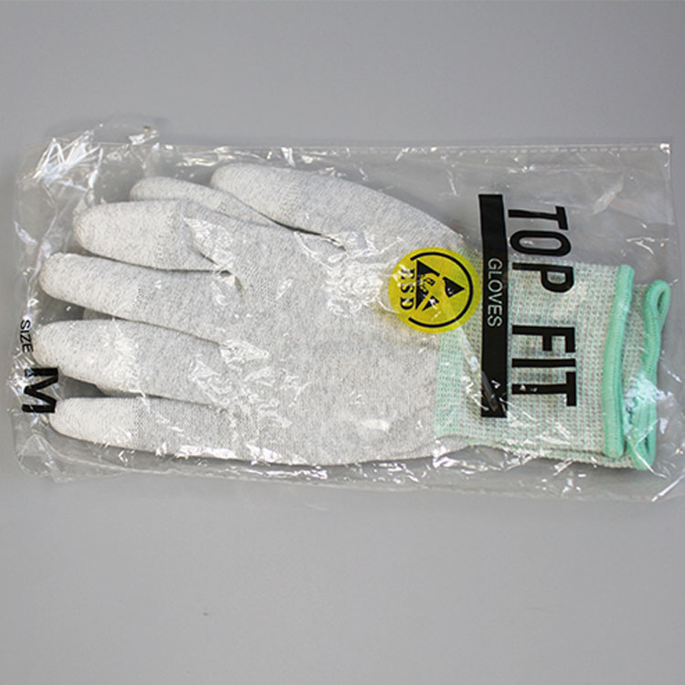 Anti Static Pu Coated Esd Fit Gloves
