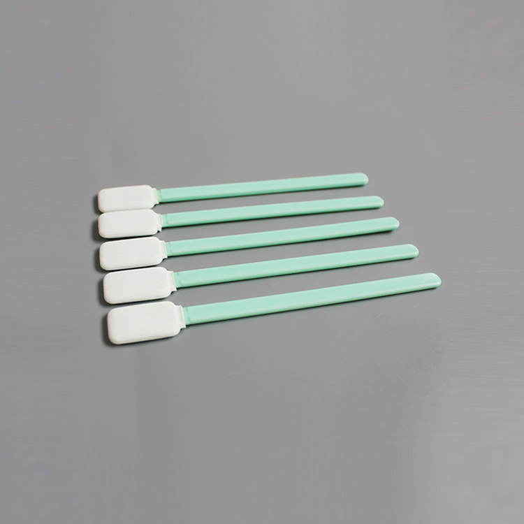 Printer Head Polyester Cleaning Clean Room Knitted Swabs