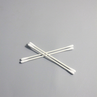 Lint Free Disposable Double Sides Cleanroom Cotton Swab for Clean Sensors